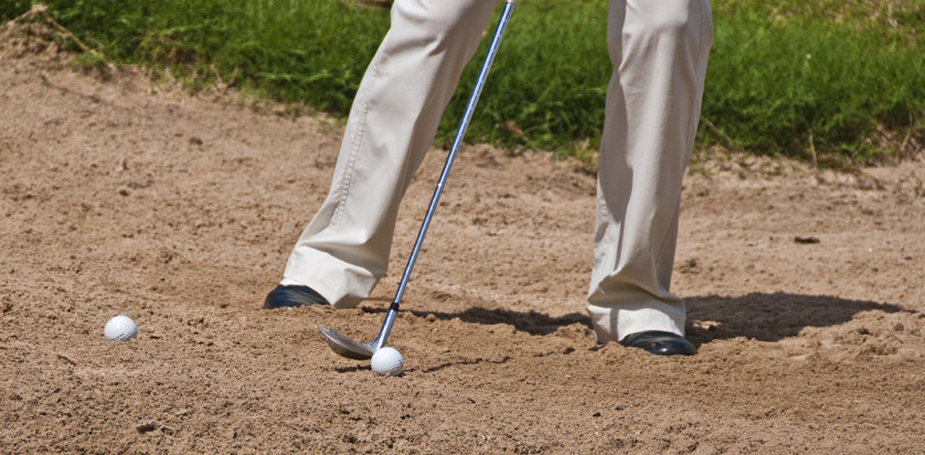 Angle of attack Bunker Drill